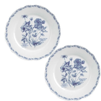 Churchill China RHS The Garden Gift Boxed Set of 2 Plates