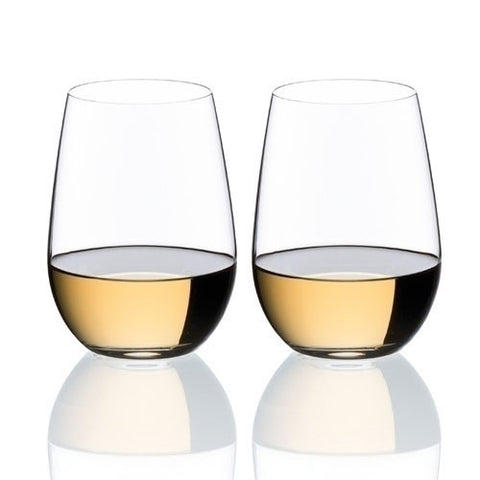 "Riedel ""O"" Riesling Sauvignon Blanc Glass Pair"