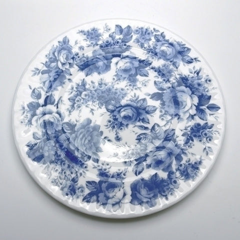 Roy Kirkham Blue Chintz Tea Plate 20cm