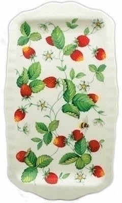 Roy Kirkham Alpine Strawberry Sandwich Tray 31cm x 15cm