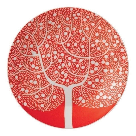 Royal Doulton Fable Accents Red Tree Tea Plate 16cm
