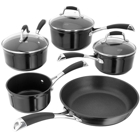 Stellar 3000 5 Black Piece Pan Set