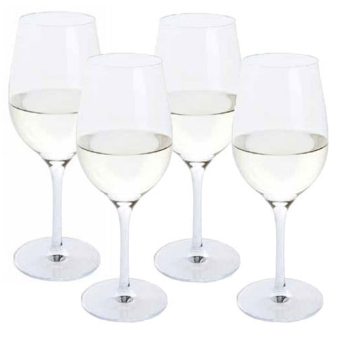 Dartington Crystal Festive Cheer White Wine Glass 0.39L (Set of 4)