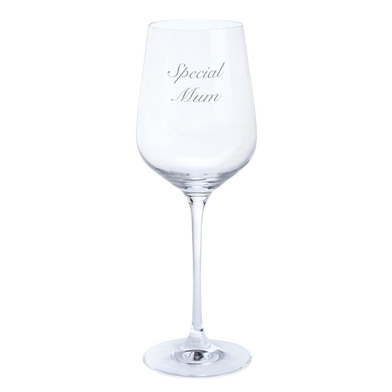 Dartington Crystal Just For You Special Mum Wine Glass 0.45L (Single)