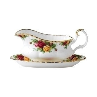 Royal Albert Old Country Roses Sauce Boat Stand 21.5cm (Saucer Only)