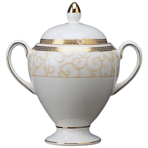 Wedgwood Celestial Gold Sugar Bowl 10cm