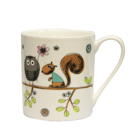 Multiple Choice Stuart The Squirrel Mug