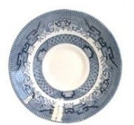 Churchill China Blue Willow Teacup Saucer 14cm (Saucer Only)