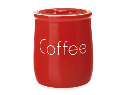 Maxwell and Williams Chef du Monde Red Coffee Canister 500ml