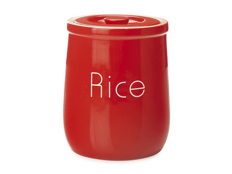Maxwell and Williams Chef du Monde Red Rice Canister 1.5L