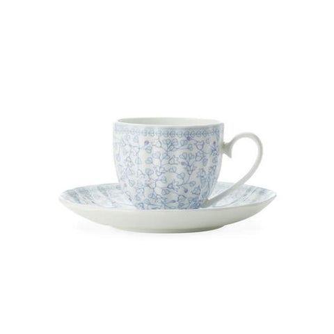 Maxwell and Williams Cashmere Charming Bluebells Coffee Cup and Saucer 1.2L