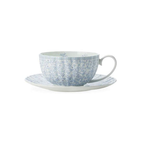 Maxwell and Williams Cashmere Charming Bluebells Breakfast Cup and Saucer 0.37L