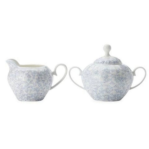 Maxwell and Williams Cashmere Charming Bluebells Sugar and Creamer Set