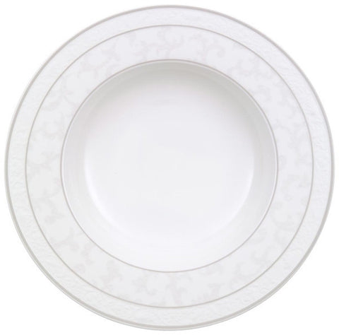 Villeroy and Boch Grey Pearl Deep Plate 24cm