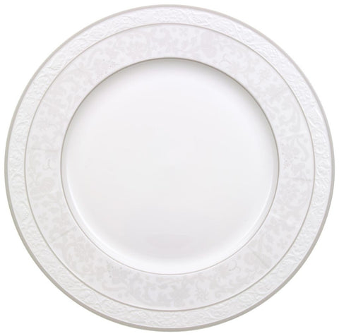 Villeroy and Boch Grey Pearl Round Platter 33cm