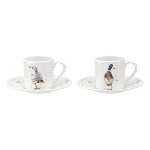 Royal Worcester Hare Cup and Saucer 0.31L (Set of 2)