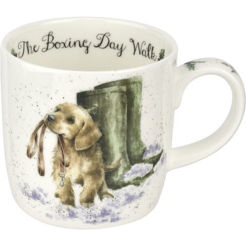 Royal Worcester Dog Bobying Day Walk Mug 0.31L