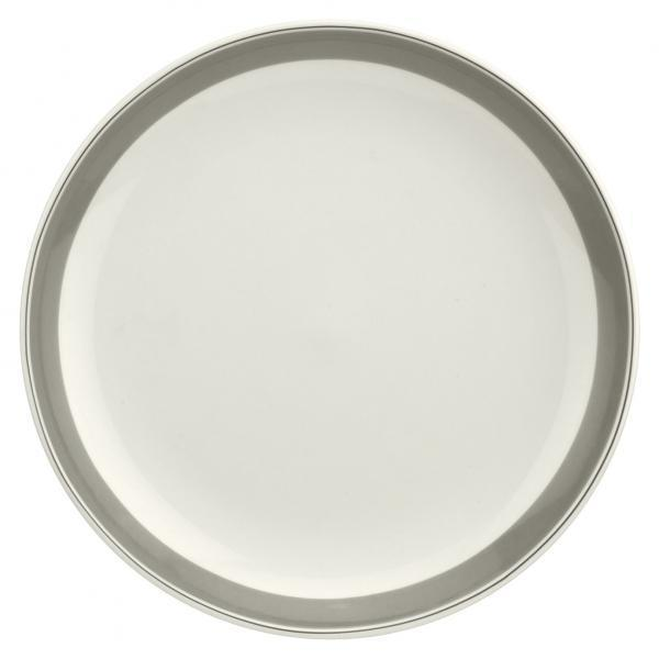 "Portmeirion Westerly Grey Coupe Plate 10.5""/ 27.5cm"