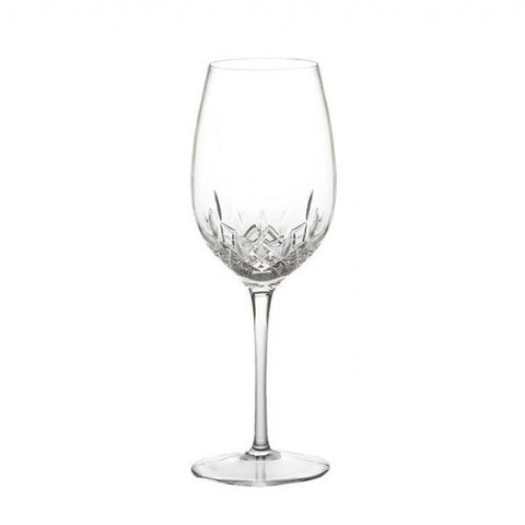 Waterford Crystal Lismore Essence Giftware Red Wine Goblet Pair