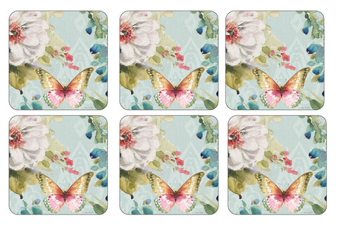 Pimpernel Colourful Breeze Coasters 10.5cm (Set of 6)