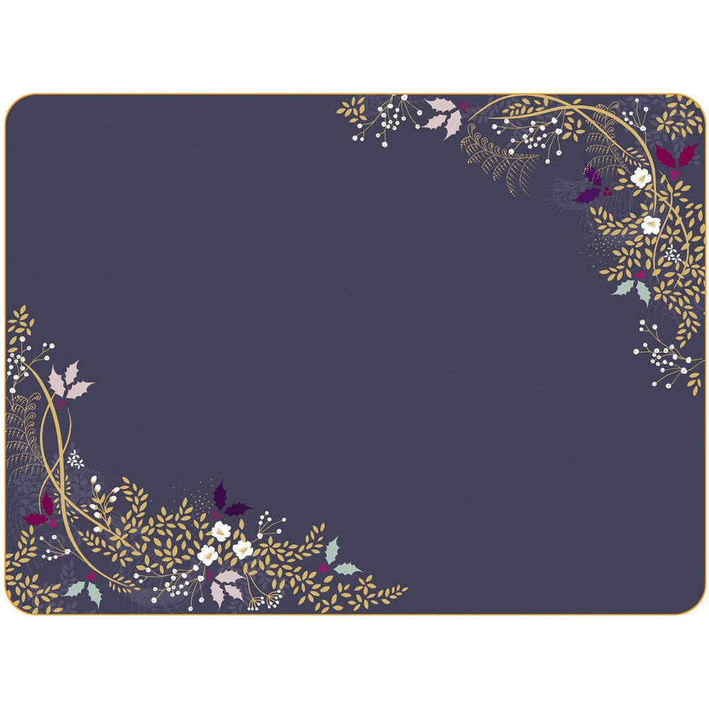 Portmeirion Sara Miller Garland Placemats 23 By 30.5 cm (Set Of 4)