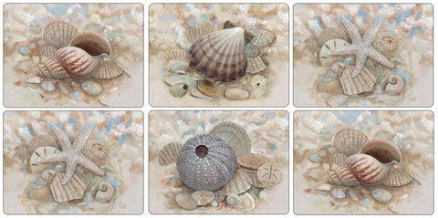 Pimpernel Beach Prize Placemats 30.5cm by 23cm (Set of 6)