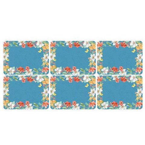 Pimpernel Maui Placemats 30.5 by 23cm (Set of 6)
