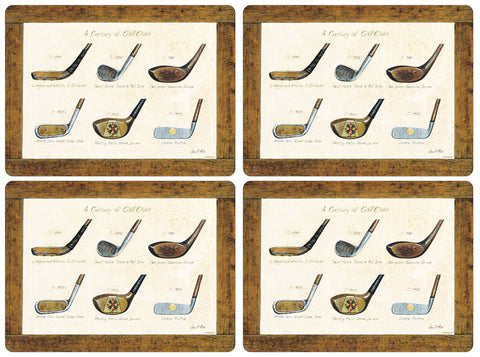 Pimpernel A History of Golf Large Placemats 40cm by30cm (Set of 4)