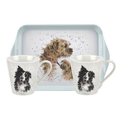 Royal Worcester Wrendale Dogs (0.18L Mug And 21 By 14cm Tray)