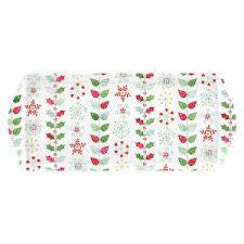 Portmeirion Christmas Wish Melamine Sandwich Tray 38.5cm by 16.5cm