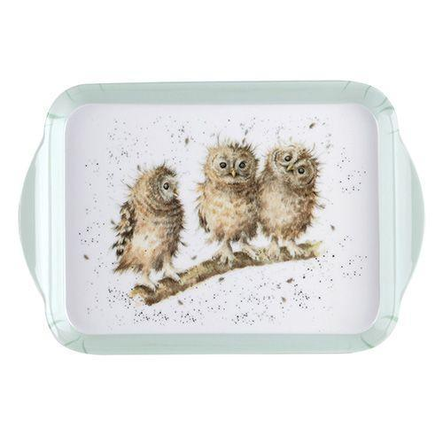 Royal Worcester Wrendale Designs Wrendale Owl Scatter Tray 21 by 14cm