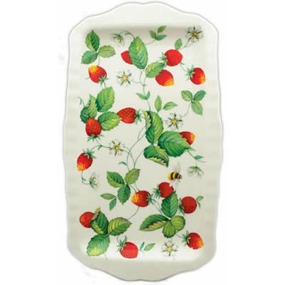 Roy Kirkham Alpine Strawberry Sandwich Tray 30cm by 15cm