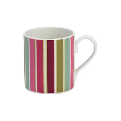 Roy Kirkham Alba Rose Striped Mug
