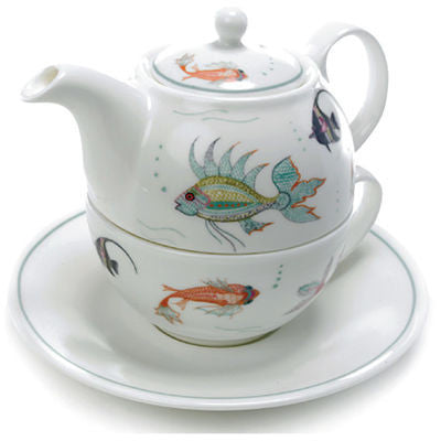 Roy Kirkham Nina Campbell Aquarium Teapot for One