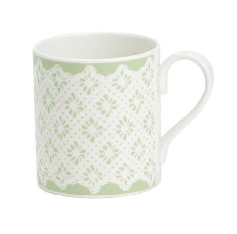 Roy Kirkham Meadow Flowers Green Lace Larch Mug