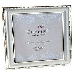 Arthur Price Cherish Bead Photo Frame 8 inch by 10 inch
