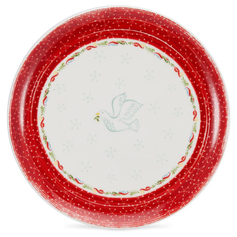 Portmeirion Christmas Wish Dinner Plate 27.5cm (Set of 4)