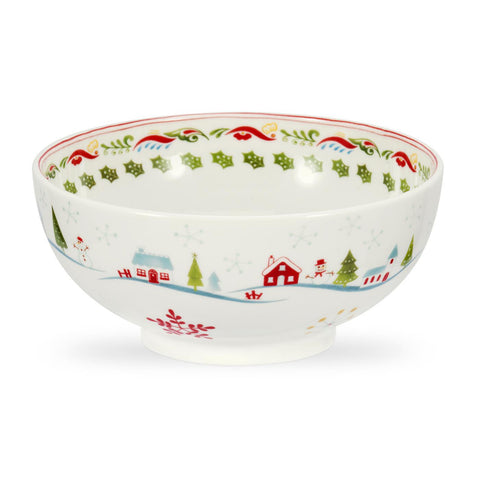 Portmeirion Christmas Wish Cereal Bowl 15cm (Set of 4)
