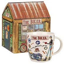 Churchill China At Your Leisure The Biker Mug 0.39L