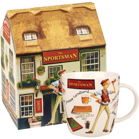 Churchill China At your Leisure The Sportsman Mug 0.39L