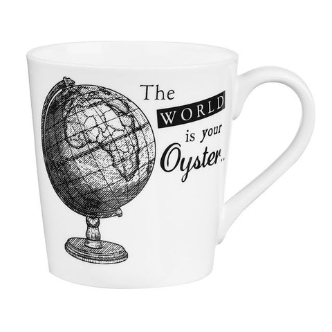 Churchill China About Time Globe Mug 0.30L