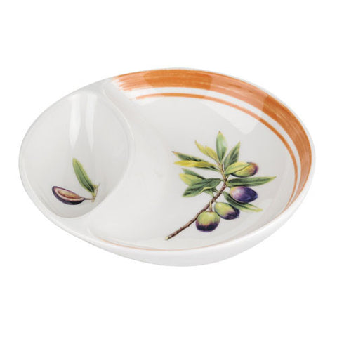 Portmeirion Alfresco Pomona Divided Dish 15.5cm