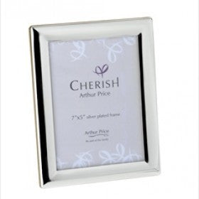 Arthur Price Cherish Oxford Photo Frame 5 inch by 7 inch