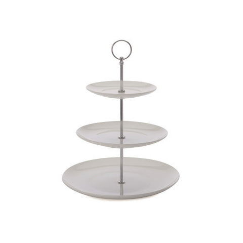 Maxwell and Williams Cashmere Bone China 3 Tier Cake Stand