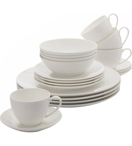 Maxwell and Williams Cashmere Bone China 20 Piece Coupe Dinner Set