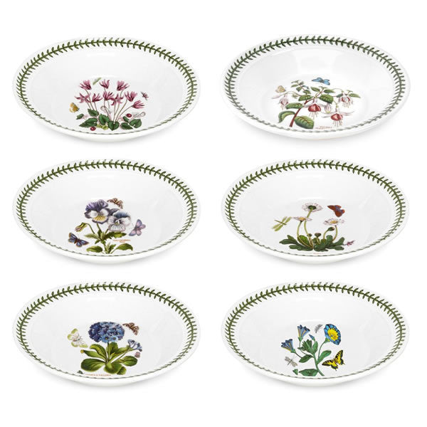 Portmeirion Botanic Garden Single Soup Bowl 8in (Assorted Design)