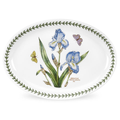 Portmeirion Botanic Garden Oval Platter 28cm (Set of 6)