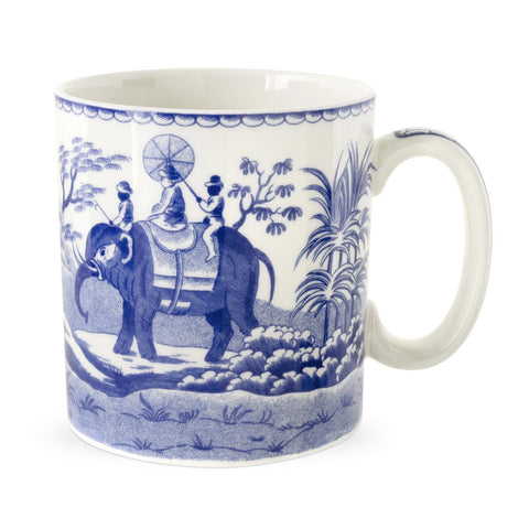 Spode Blue Room Indian Sporting Mug 0.25L