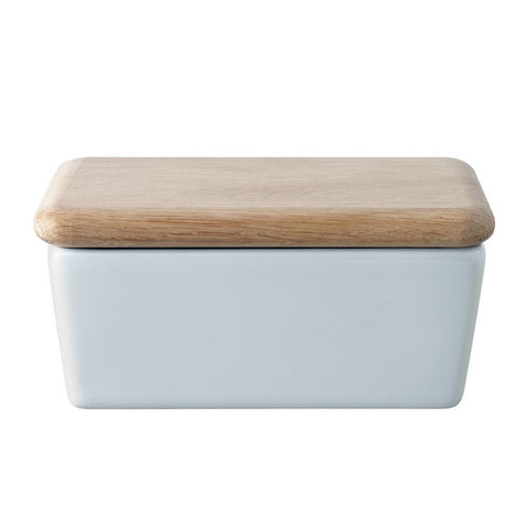 LSA Dine White Butter Dish
