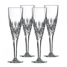 Royal Doulton Highclere Set of 4 Champagne Flutes 180ml
